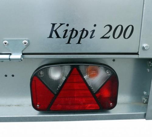 brenderup kippi 200 aanhangwagen met huif kiepen. Black Bedroom Furniture Sets. Home Design Ideas